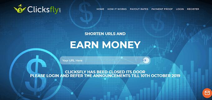 Rút gọn link kiếm tiền từ trang clicksfly.com