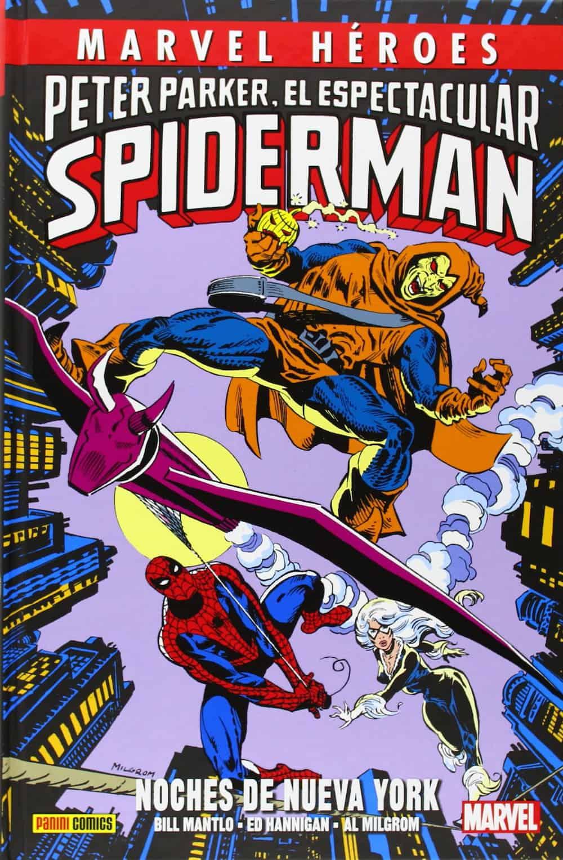 Marvel Héroes. Peter Parker, El Espectacular Spiderman: Noches de Nueva York