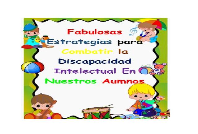 niños,primaria,actividades,estrategias,yecnicas,problemas,discapacidad