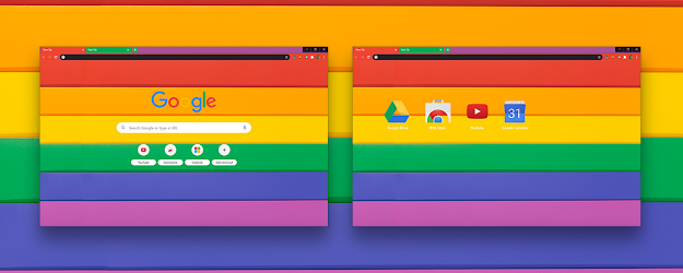 Proud Google Theme  | Chrome Web Store