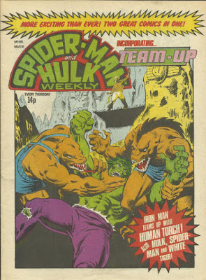 Spider-Man and Hulk Weekly #419, incorporating Team-Up, Gog and Magog