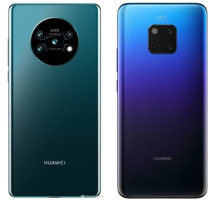 Huawei Mate 30 will receive 4 cameras and an unusual design