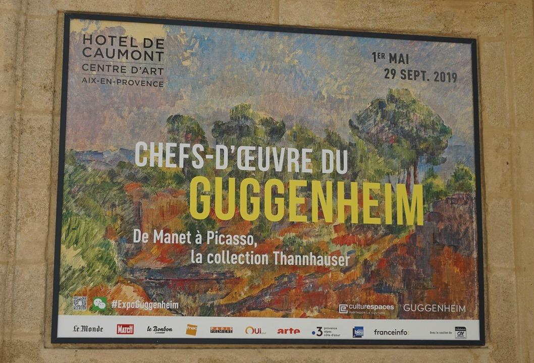 Hotel de Caumont exhibition poster