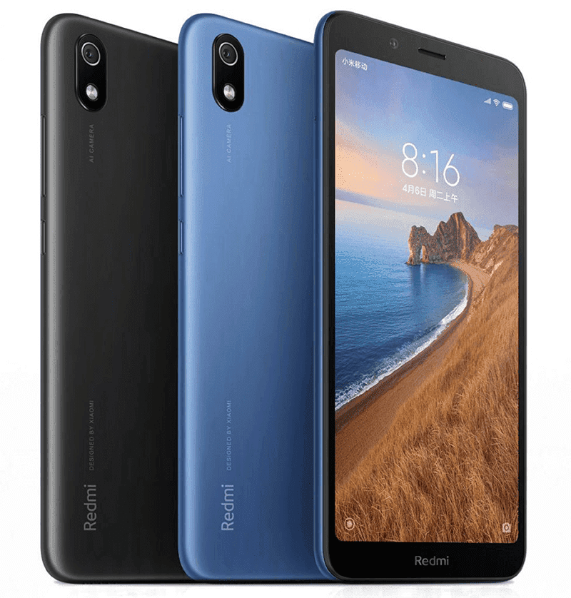 Render of Redmi 7A