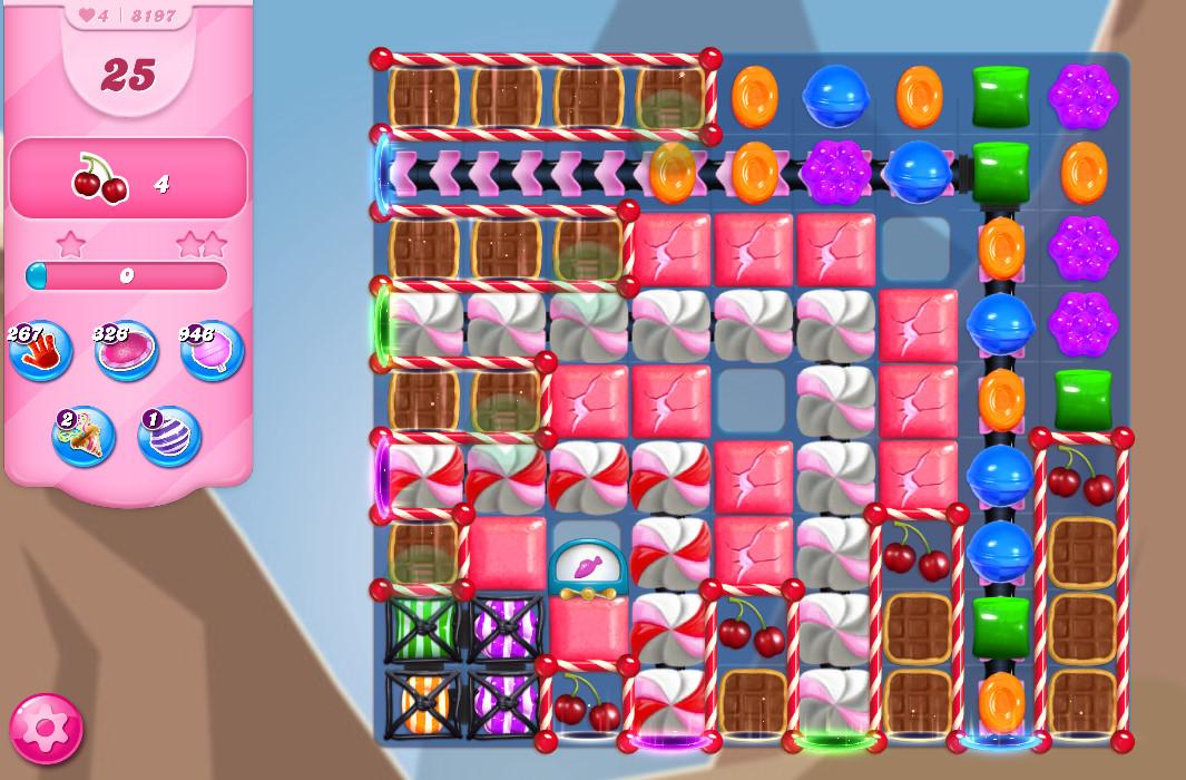 Candy Crush Saga level 8197