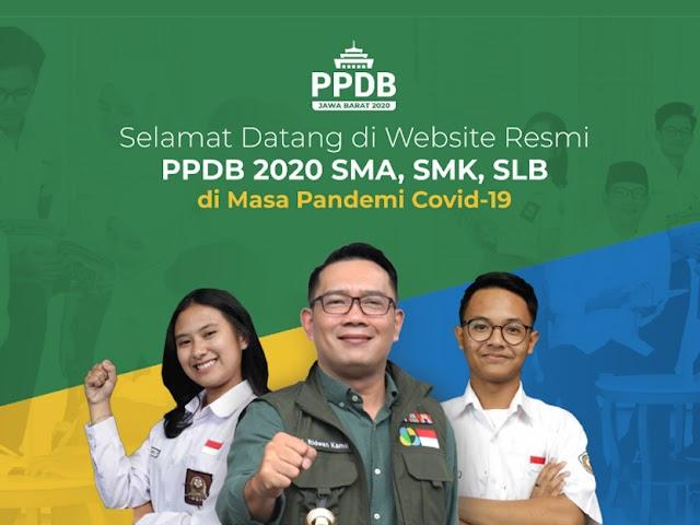 Jadwal, Kuota, Mekanisme, dan Jalur PPDB SMA dan SMK Jawa Barat Tahun 2020