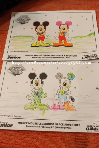 Little Artist 小小艺术家: Mickey's Colouring Session