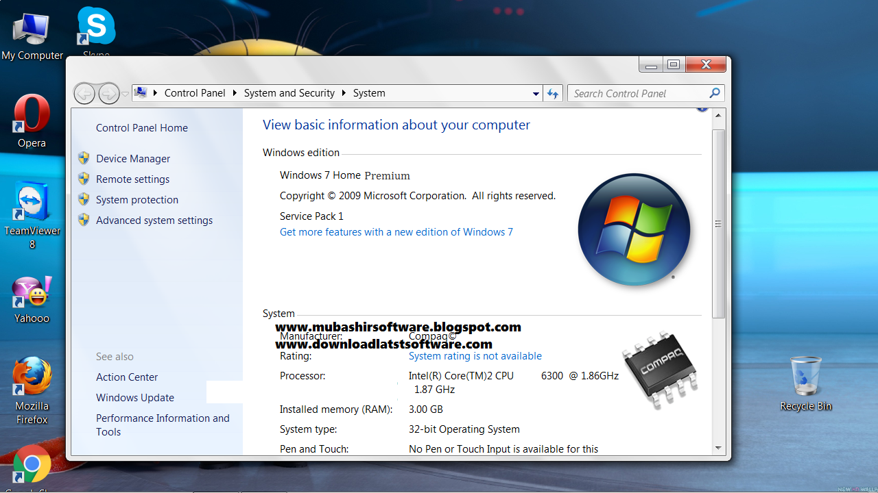 windows 7 home premium serial