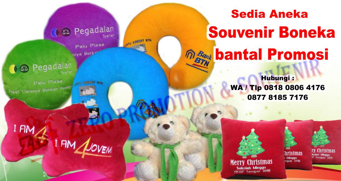 Souvenir Boneka   bantal Promosi  a148420a87