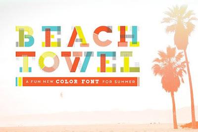 warna font