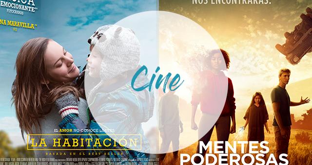 Cine | La habitación y Mentes poderosas