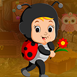 Games4King Bug Girl Escap…