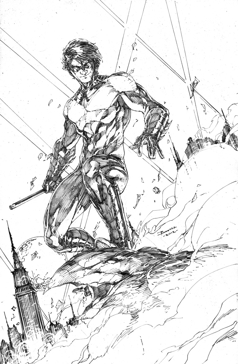 nightwing new 52 coloring pages - photo#15
