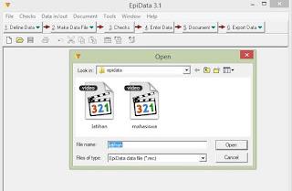 open file .REC
