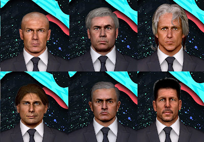 PES 2017 Facepack Managers by Sameh Momen