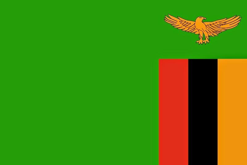 Zambia, bandera
