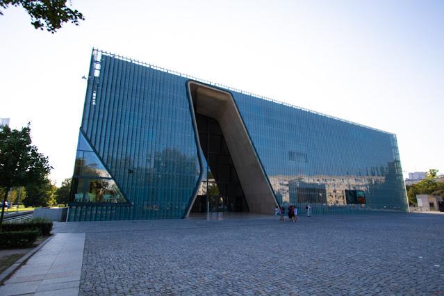 Museo della storia degli ebrei polacchi (POLIN)-Varsavia