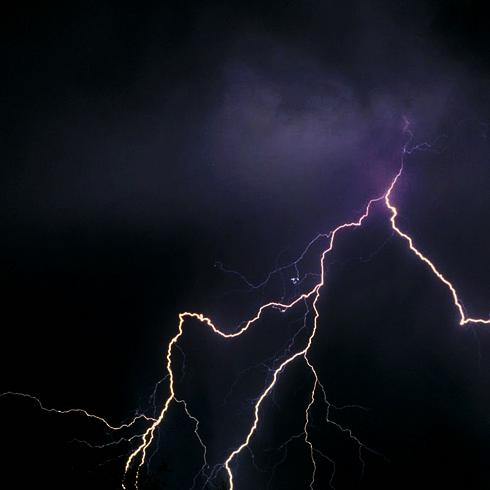 Severe Thunderstorm Medicine Hat Alberta Lightning