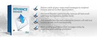 Advanced Emailer gives you a compact and fast solution to all those and other problems that can arise when you are actively communicating with your customers