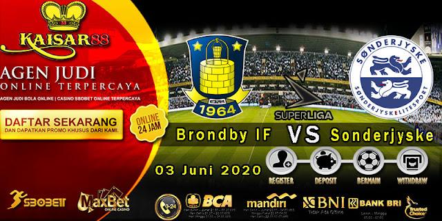 Prediksi Bola Terpercaya Liga Denmark Brondby vs Sonderjyske 03 Mei 2020