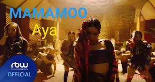 MAMAMOO - AYA LYRICS (English Translation)