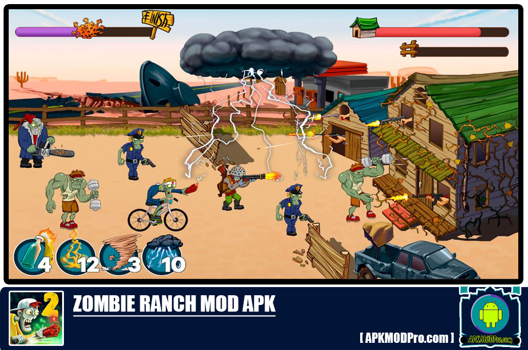 Zombie Ranch MOD APK 3.0.2 [Unlimited Money, Coins, Lives]