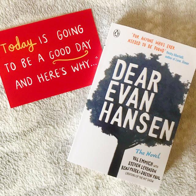Dear Evan Hansen paperback book