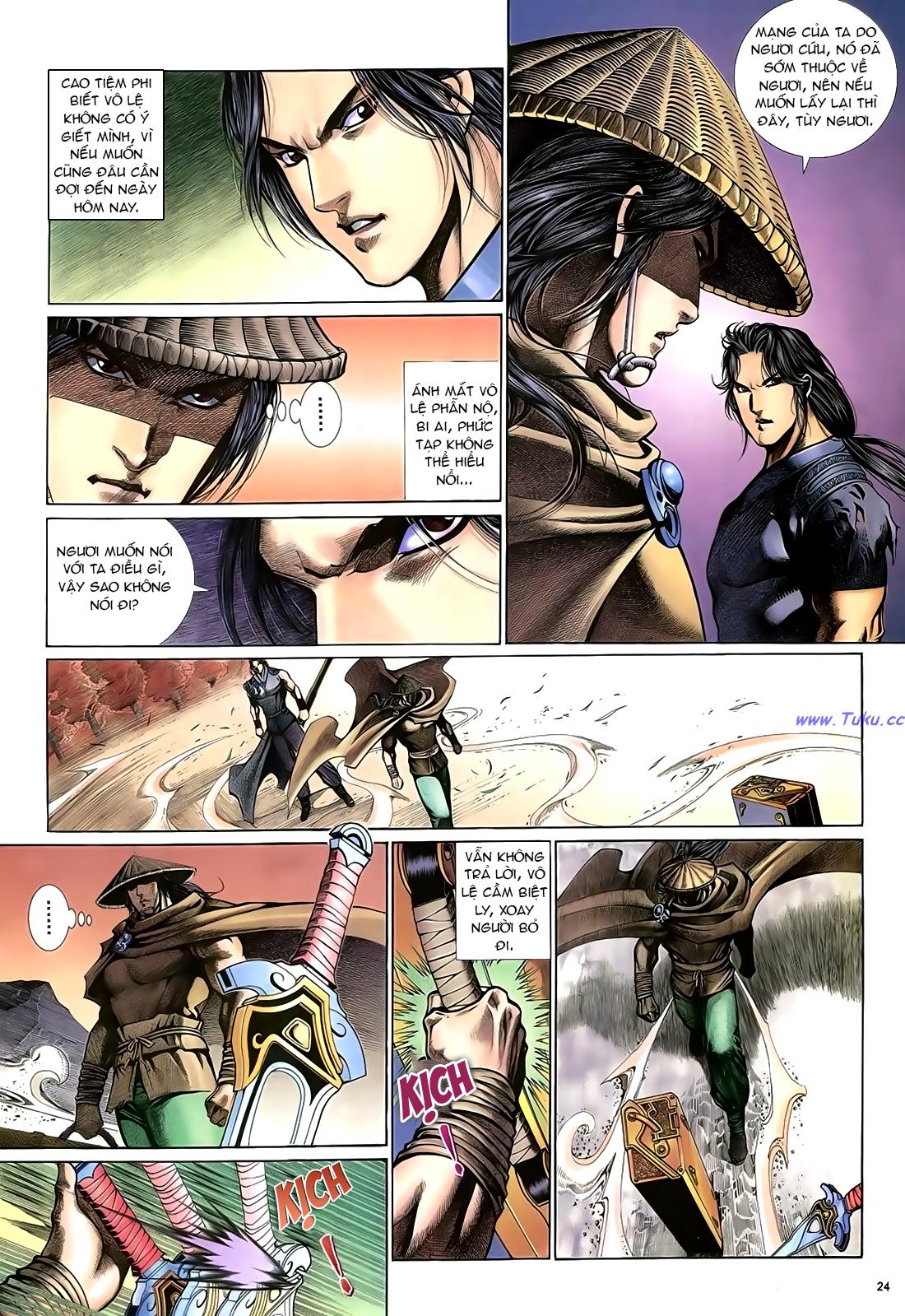 Anh hùng vô lệ Chap 21 trang 25