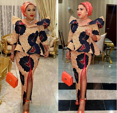 Stunning Ankara Skirt and Blouse Style For Wedding