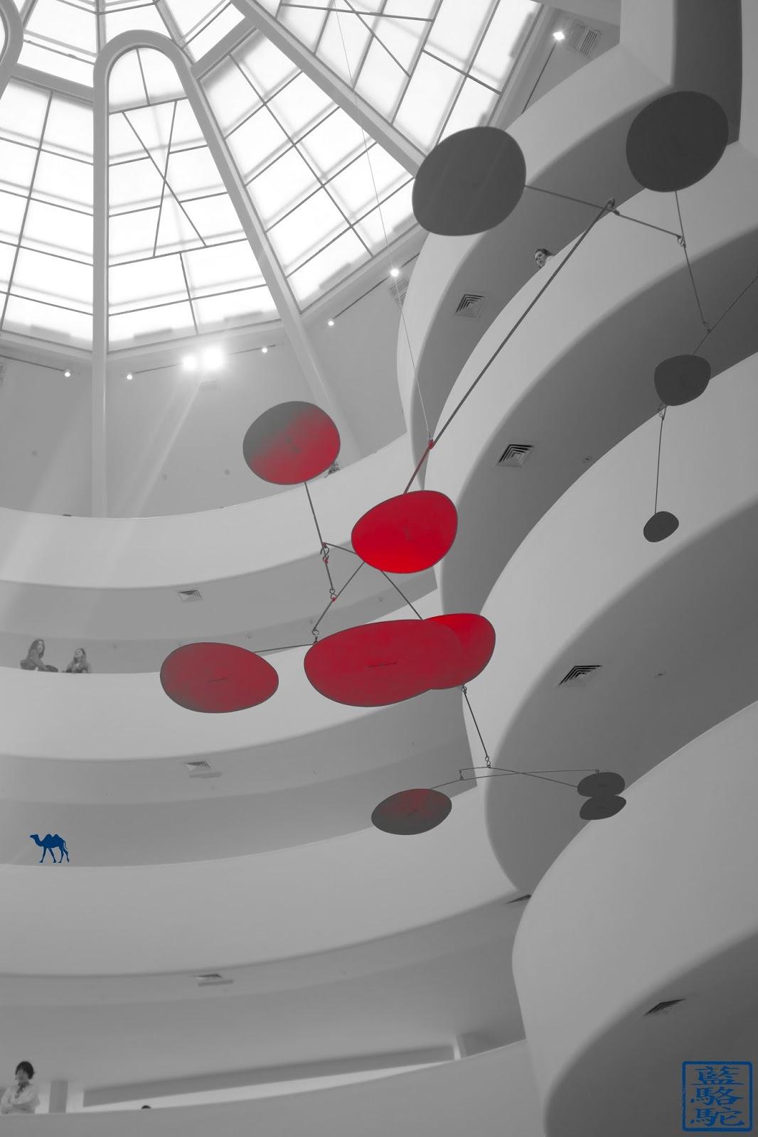Le Chameau Bleu - Musée Guggenheim de New York