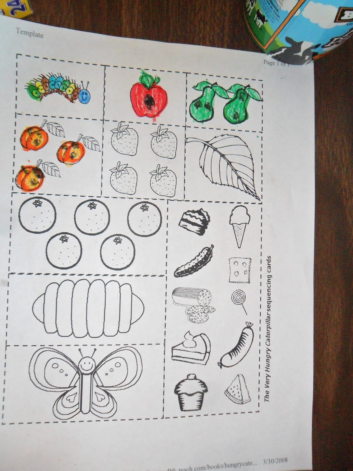 Kindelah Kindergarten Day 139 The Hungry Caterpillar