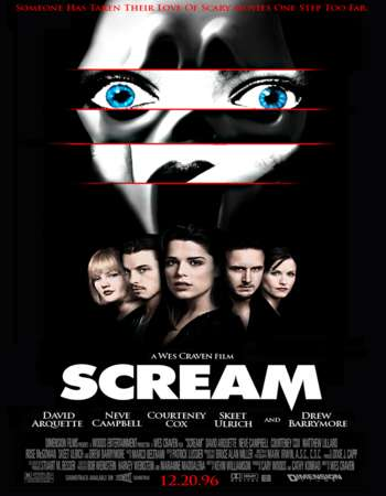 Poster Of Scream 1996 English 350MB BRRip 480p Watch Online Free Download downloadhub.net