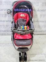 Kereta Bayi BabyDoes CH278 Parade-X Tongkat Dorong dari Depan atau Belakang