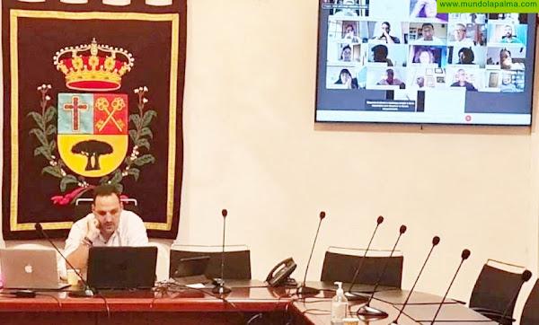 El pleno de Breña Alta acuerda destinar más de 850.000 euros del remanente de tesorería a inversiones