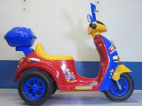 Junior QX7366 SuperBaby Skupi Battery Toy Motorcycle