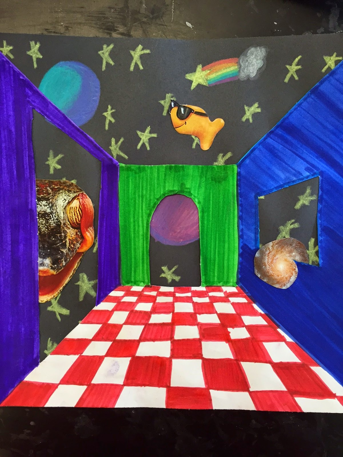Art Room Drawing: Mrs. O'Connell's Art Room: Surrealism