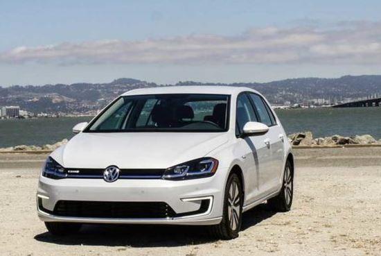 Volkswagen e-golf dsg 2019 front view