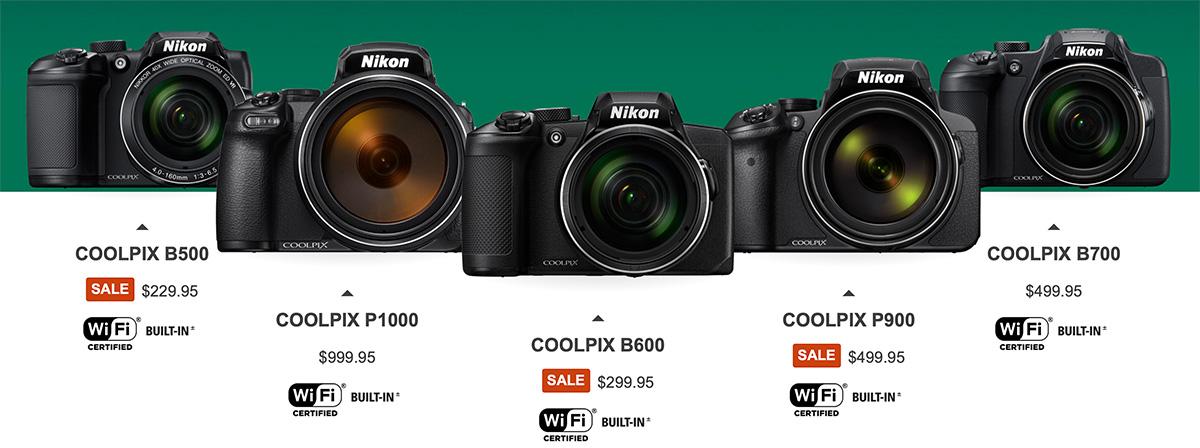 Бридж-камеры Nikon