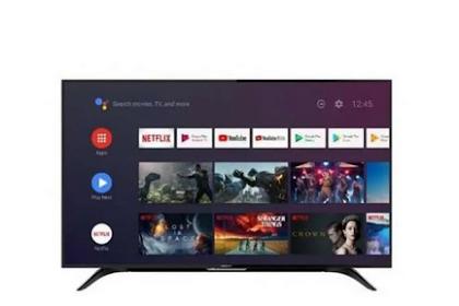 Review Desain & Port Sharp Aquos 2T-C50BG1i Android TV