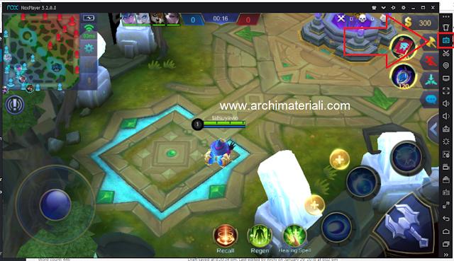 Cara Mudah Setting Keyboard Control Mobile Legends NOX Player di