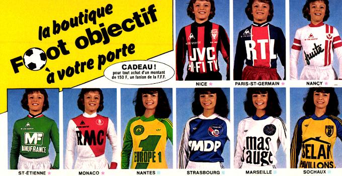 PUB. Boutique Foot Objectif (1979).