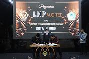 """Pemkot Bitung Terima WTP ke-10, Mantiri : """" Semua Harus Bersih """" Di Era Kepemimpinan (MM-HH)"""