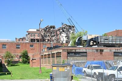 demolition in Washington DC: DC General Hospital
