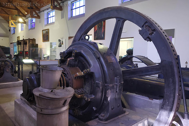 Industry Museum in Bois du Cazier Charleroi