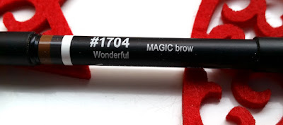 Lord and Berry Magic Brow eyebrow pencil