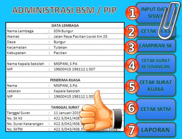 Aplikasi BSM-PIP Administrasi Sekolah Terbaru 2016