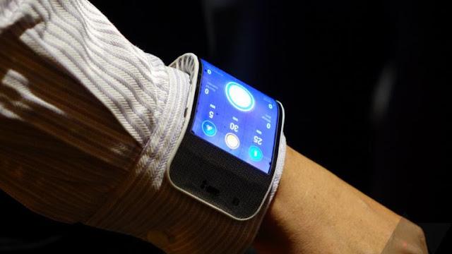 Lenovo foldable smartphon