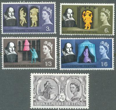 Great Britain-Shakespeare set(1964) -Literature-Plays