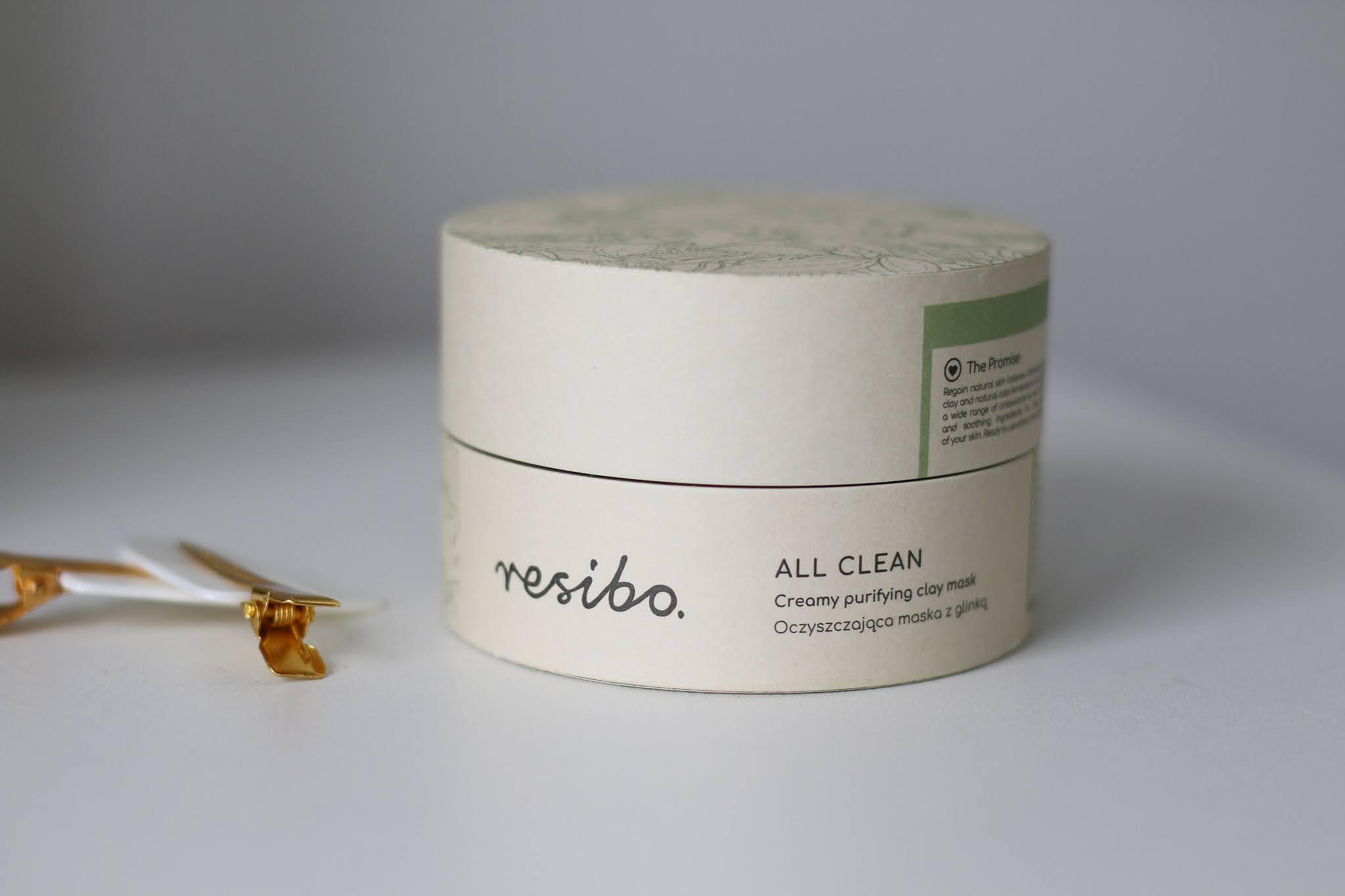 Resibo All Clean oczyszczająca maska z glinką