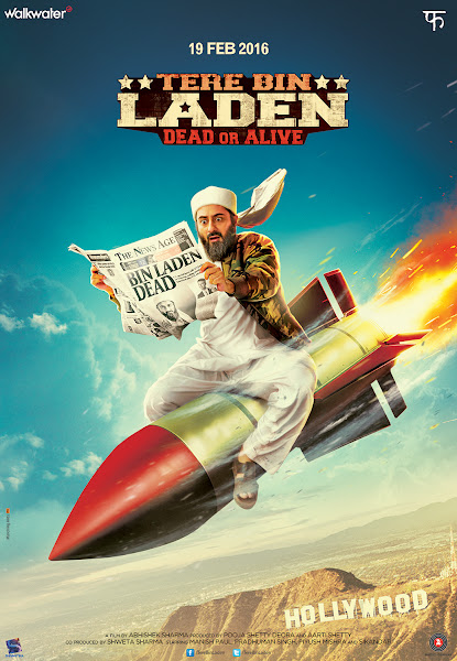 Poster Of Tere Bin Laden Dead or Alive 2016 480p Hindi DVDScr Full Movie
